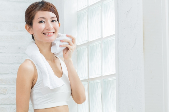 健康のために汗をかきましょう