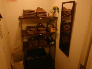 お着替え用の更衣室